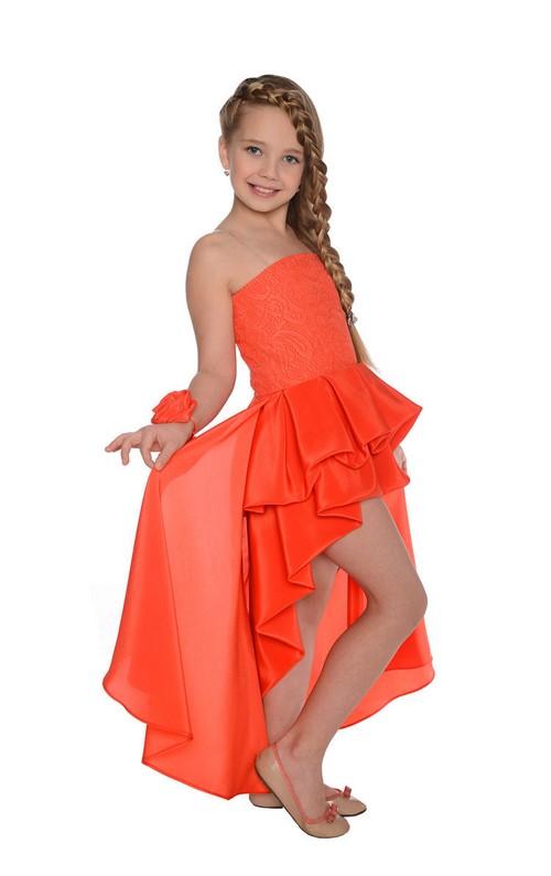 Küçük moda tutkunları için! Kızlar için güzel mezuniyet elbiseleri
