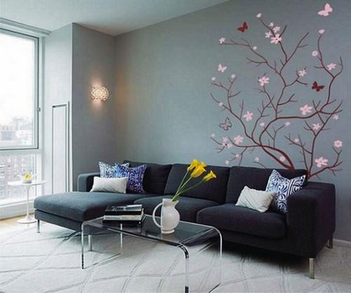 Duvarlar nasıl dekore edilir - fotoğraf fikirleri farklı odalarda duvarlar nasıl dekore edilir