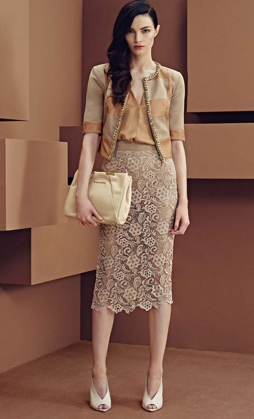Moda midi etekler. Midi etek nasıl giyilir - fotoğraf fikirleri, yeni ürünler, trendler