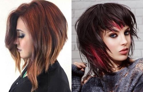 Orta saçlar için moda saç kesimleri - fotoğraflar, trendler, stil fikirleri