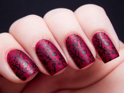 Manucure luxueuse avec dentelle - photos, actualités, idées de motifs