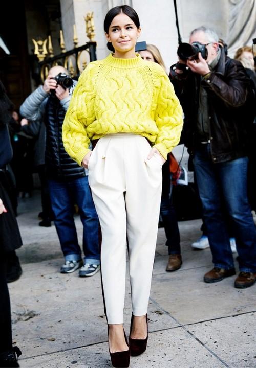 Şık kadın pantolonları - fotoğraflar, stiller, yeni pantolonlar
