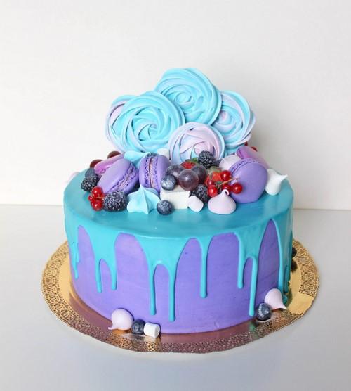 Güzel doğum günü pastaları. Kek dekorasyon için inanılmaz fotoğraf fikirleri