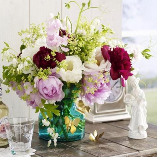 Les plus beaux bouquets de pivoines: design, tendances florales, idées de design
