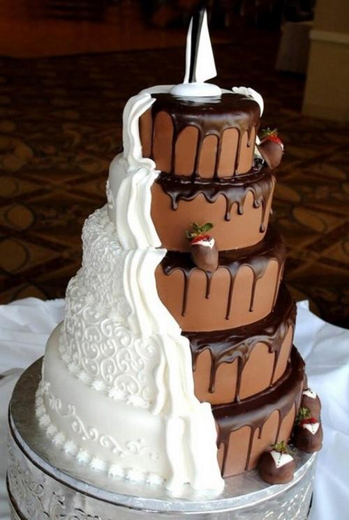 Les plus beaux gâteaux au chocolat - idées de photo, décoration, décoration et design