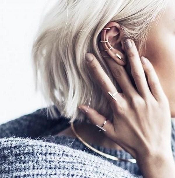 Piercings d'oreille: idées et variations de tendance sur des piercings d'oreille