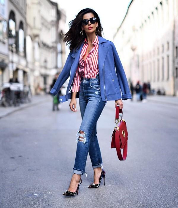 En güzel kot: kot pantolon ile en iyi görüntüler
