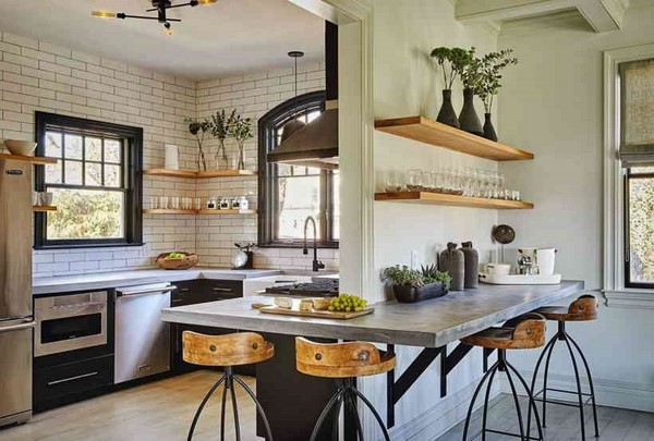 Idées modernes de design de cuisine: nouvelles photo