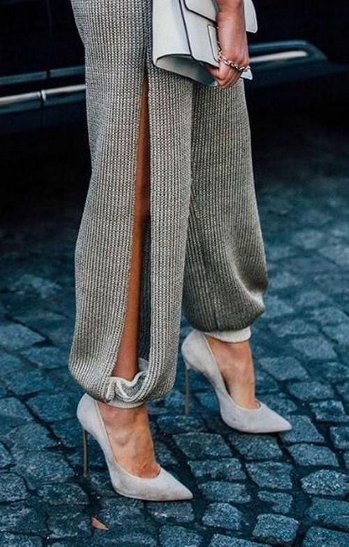Modaya uygun örme trendleri: orijinal görünümde örme stilleri