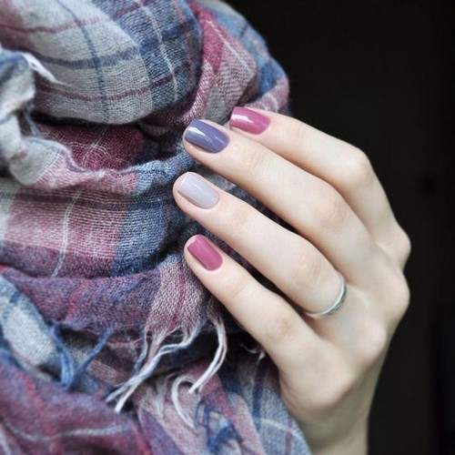 Manucure simple toujours désirée: idées de photos